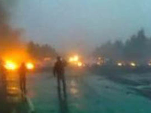 Accidente aéreo en Rusia deja al menos 36 personas muertas