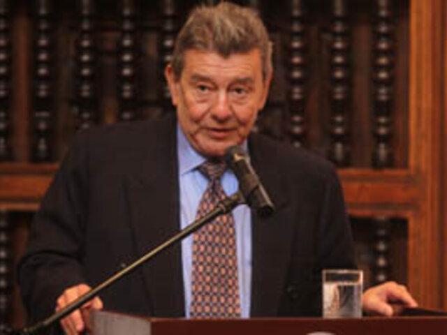Canciller Roncagliolo: Son inaceptables las afirmaciones del embajador boliviano