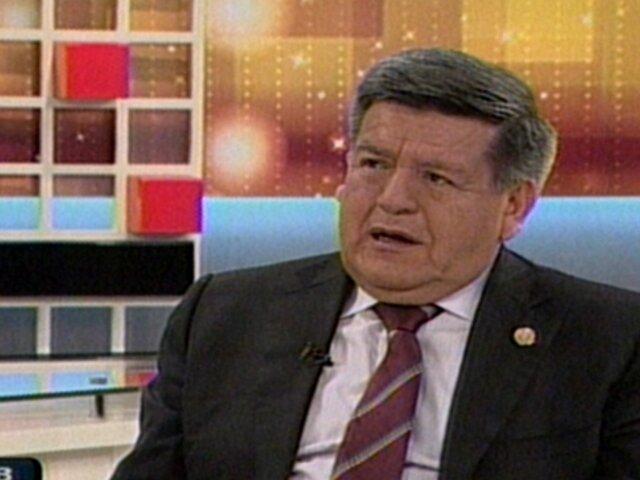 César Acuña: Ollanta Humala sigue política económica del anterior Gobierno