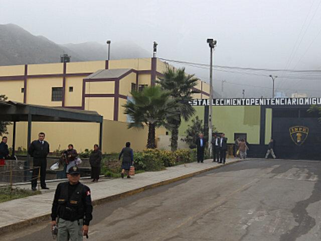 Informes de la Policía alertan sobre riesgo de fuga en el penal Castro Castro