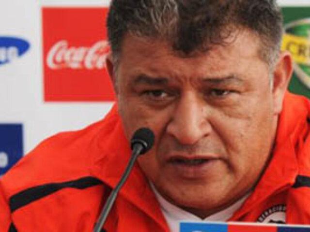 Técnico de Chile entregó lista de convocados para debut en eliminatorias