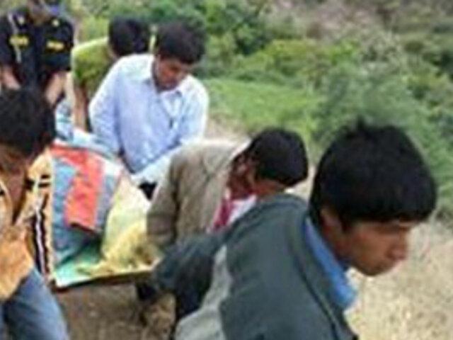 Encuentran cadáver de profesor de escuela en Lunahuana