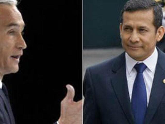 Jorge Ramos: Ollanta Humala ya sembró el temor de la reelección en los peruanos
