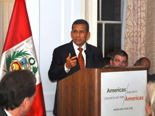 Ollanta Humala tiene como prioridad estrechar lazos con América Latina