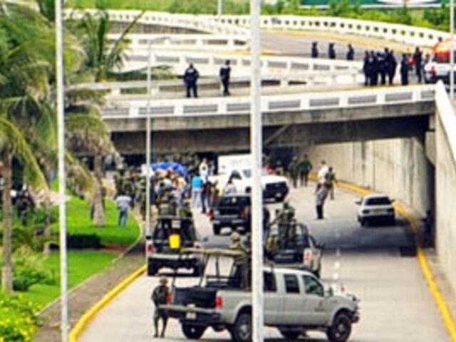 En México aparece un cuerpo colgado con disfraz del Chapulín Colorado