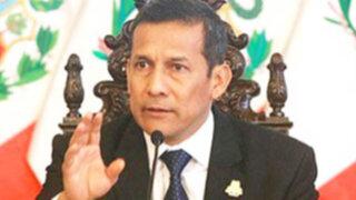 Presidente Ollanta Humala: Tenemos que recuperar los estadios de la violencia