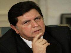 Alan García tendrá que declarar ante megacomisión que investigará su gobierno