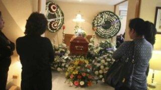 Velan en San Martín de Porres restos de policía abatido en el Vraem