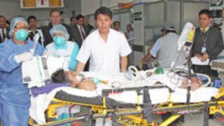 Explosión de caldero en Hospital Hermilio Valdizán dejó dos heridos