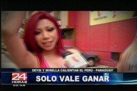 Nuestras chicas se unen a la barra peruana