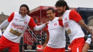 Ollanta Humala alentaría a la selección desde el palco presidencial del Estadio Nacional