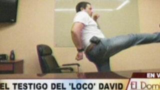 """La versión de un nuevo testigo del """"Loco David"""""""