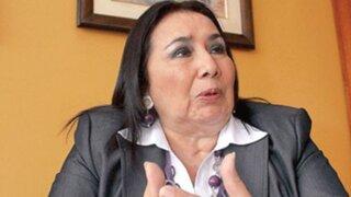 Ministra Aída García Naranjo afronta proceso penal en agravio del Estado