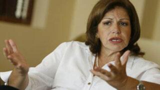 Lourdes Flores: Fiscalía y PJ se excedieron con interceptación a Galarreta