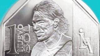 Cibernautas crean moneda con silueta de Paolo Guerrero
