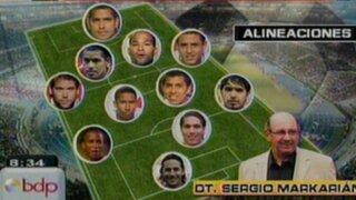 Posible alineación de nuestra selección ante la escuadra chilena