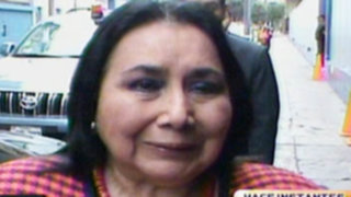 Aída García: Tengo todo el respaldo del presidente Ollanta Humala