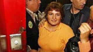 Trasladan a Abencia Meza a la carceleta del Poder Judicial