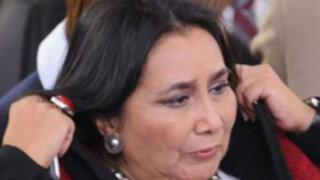 La ministra García Naranjo pidió prescripción por juicio iniciado en los años 90