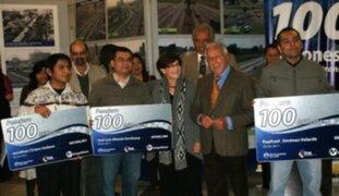 Municipalidad de Lima premió al pasajero número 100 millones del Metropolitano