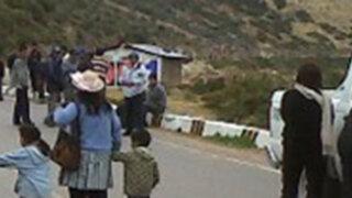 Siguen enfrentamientos en los comuneros de Cajamarca y la minera Yanacocha