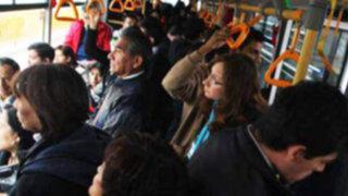 Servicio regular A del Metropolitano será suspendido por procesión