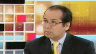 Ronald Gamarra: Gobierno debe cumplir con lucha anticorrupción sin blindar a sus funcionarios