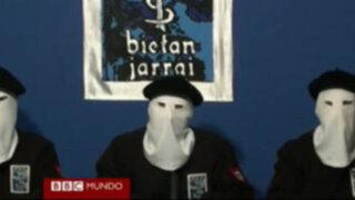 España: Terroristas de ETA anuncian  el cese definitivo de su lucha armada