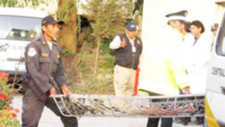 Cadáver hallado en el Colca ingresó a Medicina Legal en Arequipa