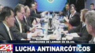 Salomón Lerner busca apoyo de EE. UU. en la lucha anti corrupción en el Perú