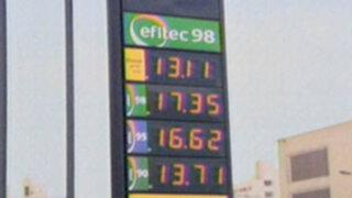 Precios de los combustibles podrían subir en los próximos días