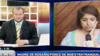 Madre de Rosario Ponce: Guardaremos a nuestra manera luto por Ciro