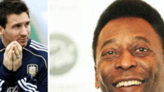 Pelé: Messi es el mejor pero aún no está a la altura de las leyendas
