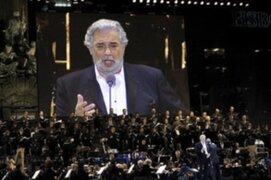 Placido Domingo celebró 40 años de su primera gala en el Royal Opera House de Londres