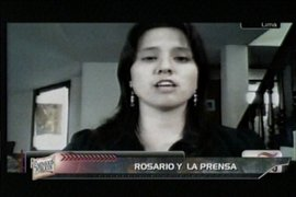Rosario Ponce y la dura relación con la prensa