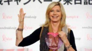 Olivia Newton John se conquista el público en Festival de Roma