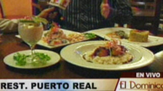 """Las delicias del mar y la comida criolla en el restaurante """"Puerto Real"""""""