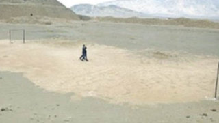 En Trujillo convierten huaca en cancha de fulbito