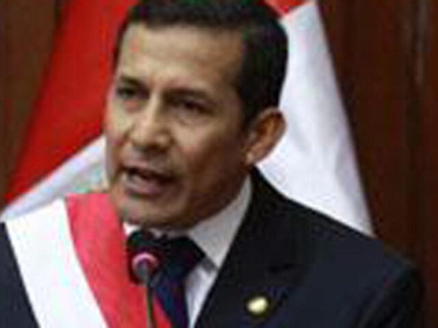Presidente Ollanta Humala envia saludo por el Día de la Medicina Peruana