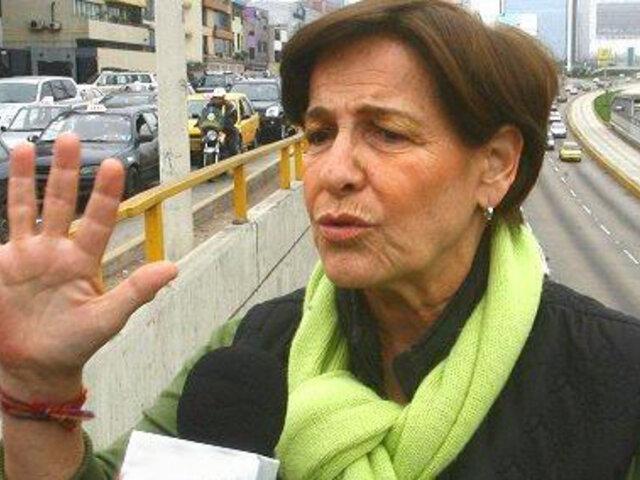 Datum: aprobación a gestión de alcaldesa Villarán continúa descendiendo