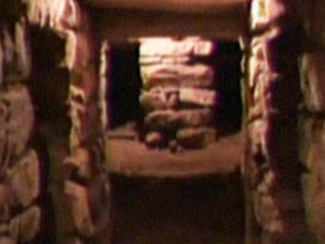 Arqueólogos descubren túnel debajo del Lanzón Monolítico de Chavín