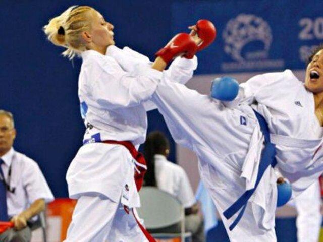 Karateca peruana gana medalla de plata en Juegos Panamericanos