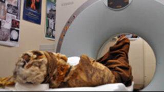 EEUU: científicos estudian momia peruana con avanzados aparatos tecnológicos