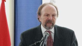 Salomón Lerner expresó que se preservará el estado de derecho ante conflictos mineros