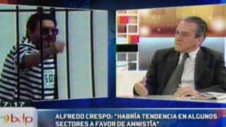 Alfredo Crespo: Sendero tiene derecho a participar en próximos comicios