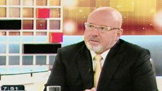 Carlos Bruce: Escándalos de Omar Chehade han desgastado rápidamente al actual régimen