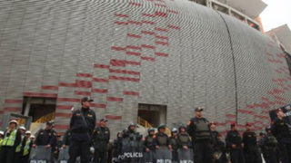 Policía Nacional garantiza seguridad para que la 'U' juegue en el Nacional