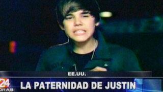 Demandan a cantante Justin Bieber por una presunta paternidad