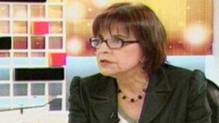 Mercedes Cabanillas: Soy la única que da cara por Baguazo y desaparición de Bazán