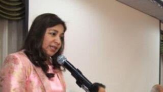 Oficialismo respalda a Marisol Espinoza en caso Pensión 65